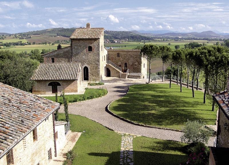 Castello di Monticelli Garten