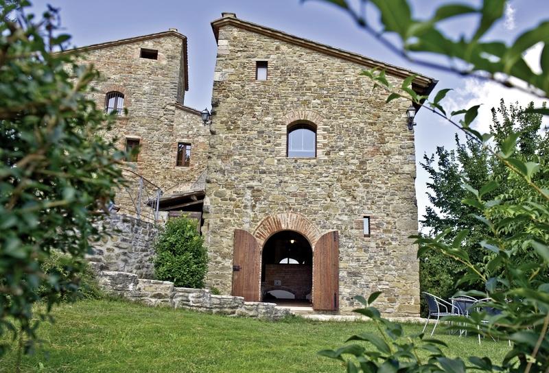 Castello di Monticelli Außenaufnahme
