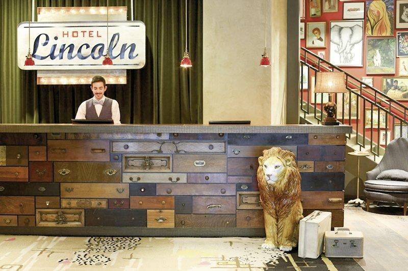 Lincoln, a Joie de Vivre Boutique Hotel Lounge/Empfang