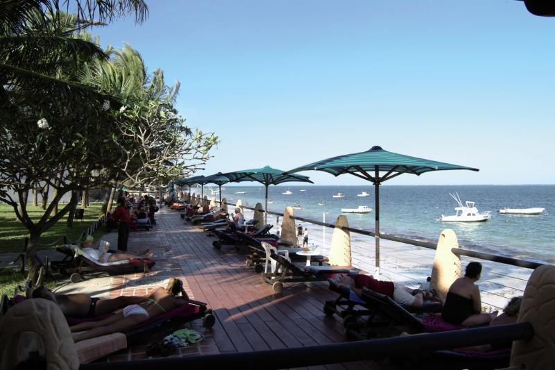 Bamburi Beach Terrasse