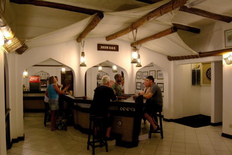 Bamburi Beach Lounge/Empfang