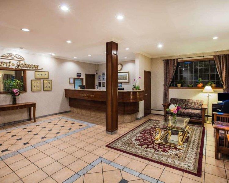 Howard Johnson Hotel Victoria Lounge/Empfang