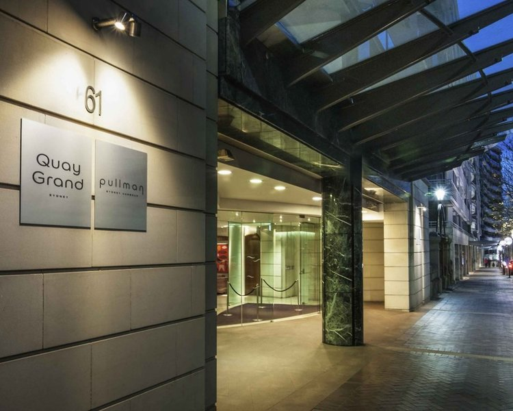 Pullman Quay Grand Sydney Harbour Lounge/Empfang