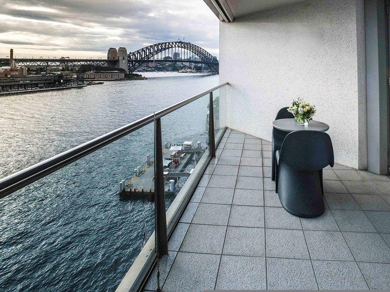 Pullman Quay Grand Sydney Harbour Terrasse
