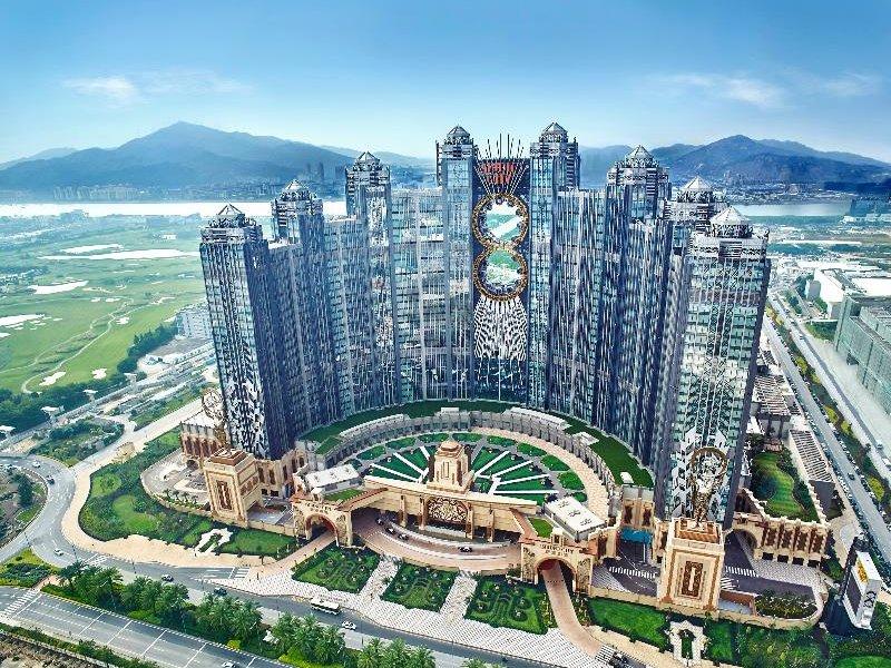 Studio City Macau Garten