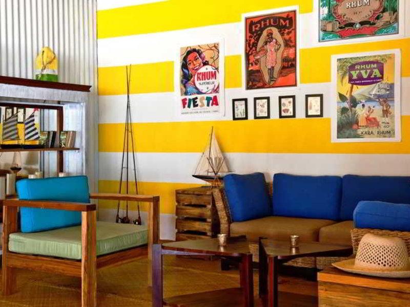 Hopkins Bay Resort Lounge/Empfang