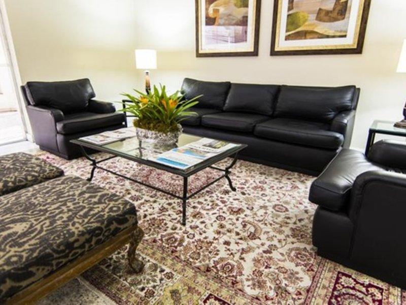 Plaza Inn American Loft Lounge/Empfang