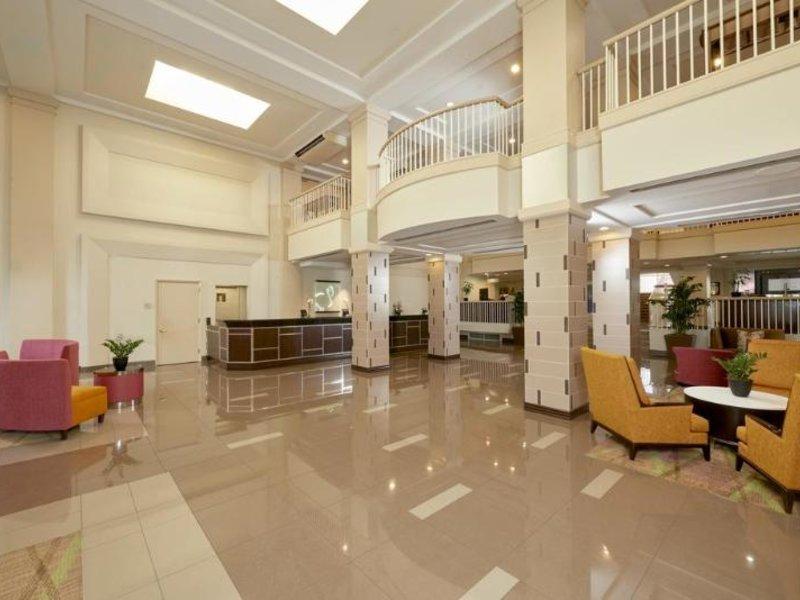 Hilton Grand Vacations Club at the Flamingo Lounge/Empfang