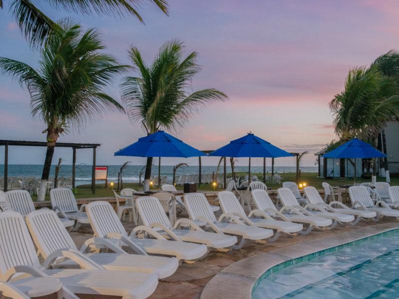 Prodigy Beach Resort Marupiara Terrasse