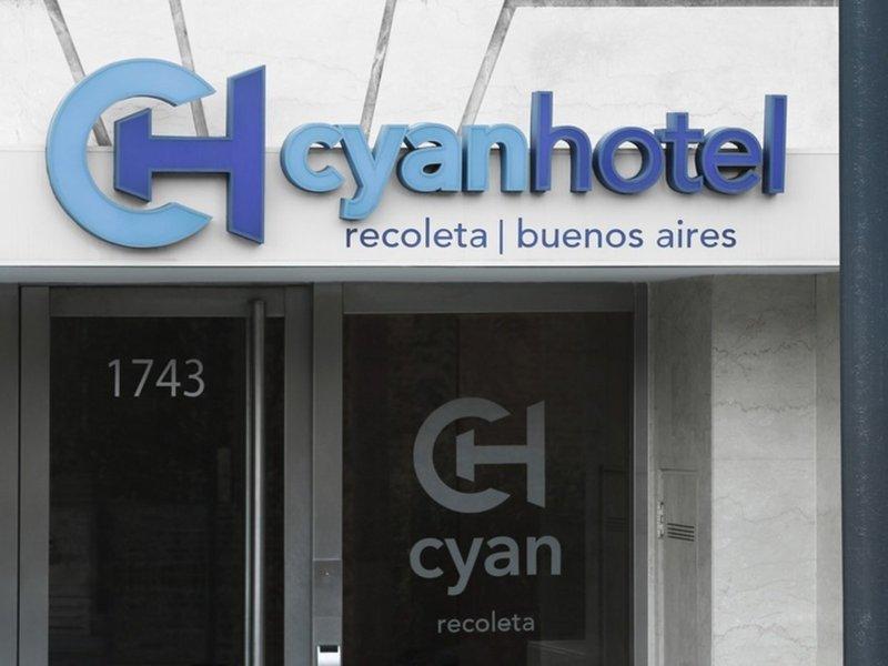 Cyan Hotel Recoleta Außenaufnahme