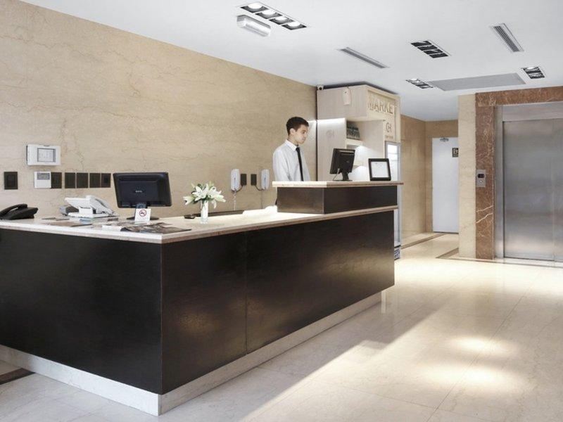 Cyan Hotel Recoleta Lounge/Empfang