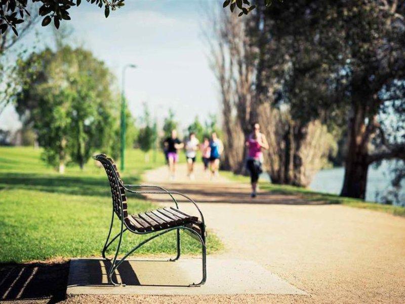 Pullman Melbourne Albert Park Garten