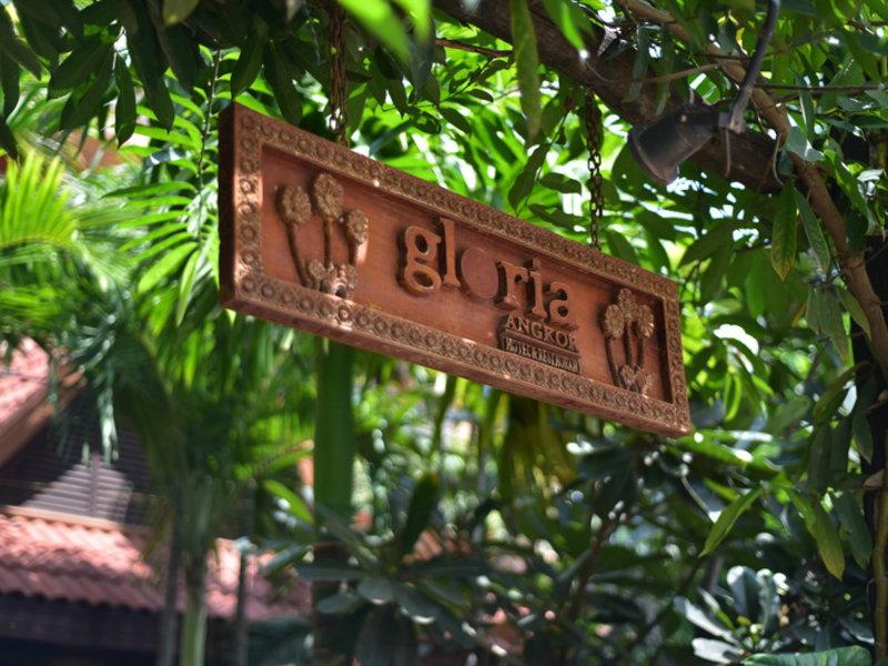 Gloria Angkor Hotel Außenaufnahme