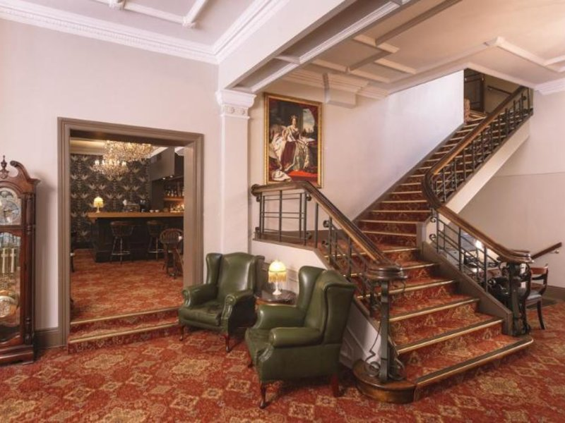 Hadley´s Orient Hotel Lounge/Empfang