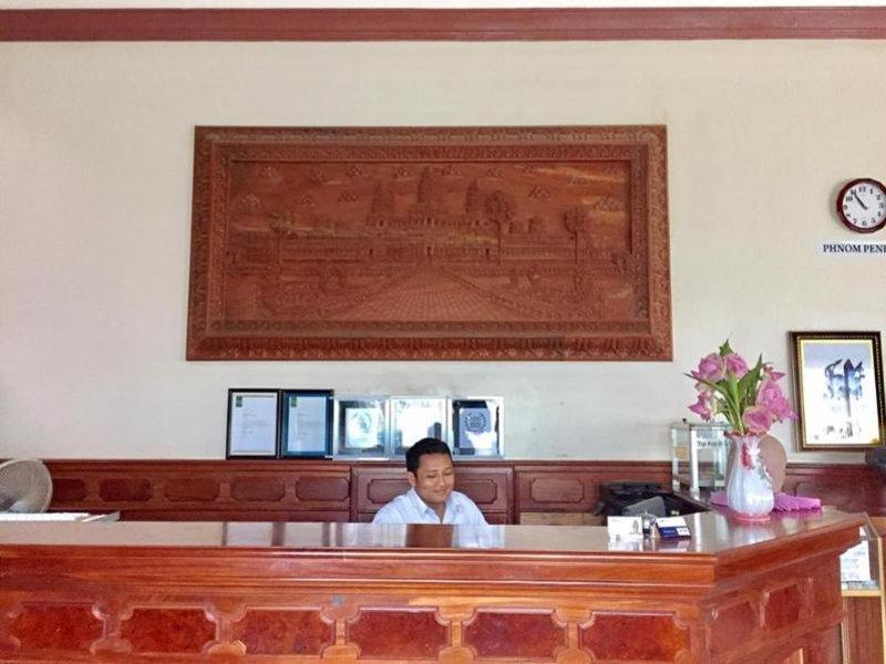 Gloria Angkor Hotel Lounge/Empfang