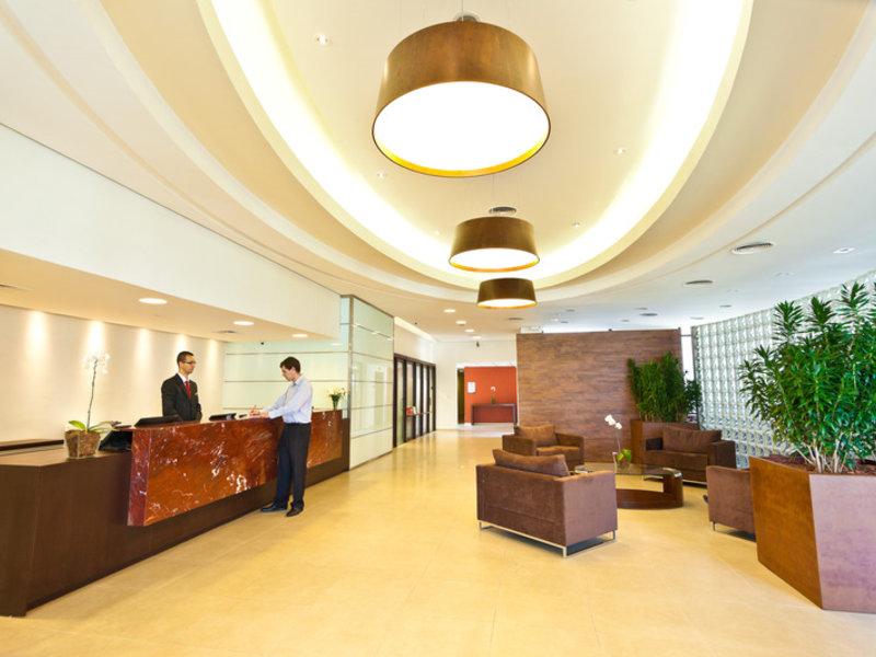 Hotel Panamby Guarulhos Lounge/Empfang