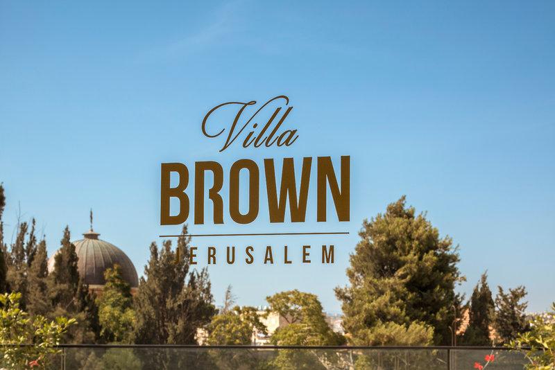 Villa Brown Jerusalem Außenaufnahme