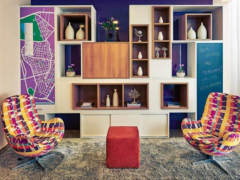 Mercure Sao Paulo Vila Olimpia Lounge/Empfang
