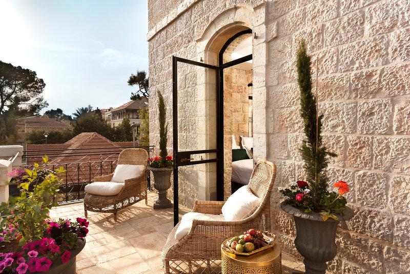 Villa Brown Jerusalem Terrasse