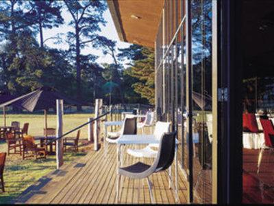 Mansion Hotel & Spa at Werribee Park Terrasse