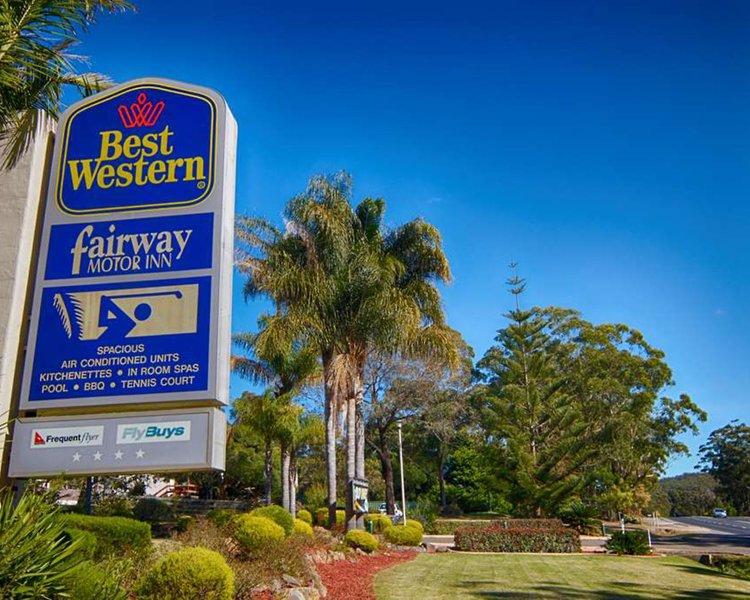 Best Western Fairway Motor Inn Außenaufnahme
