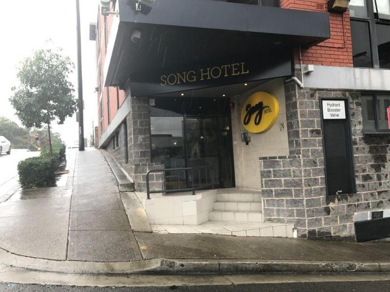 Song Hotel Redfern Außenaufnahme