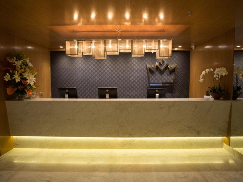 Royal Regency Palace Hotel Lounge/Empfang