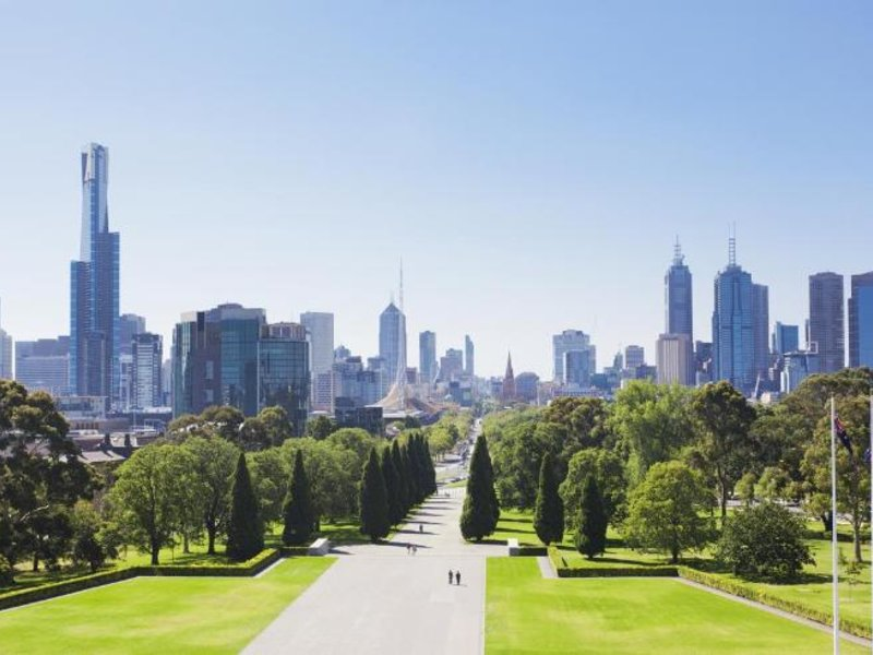 Melbourne Short Stay Apartments Southbank Collection Landschaft