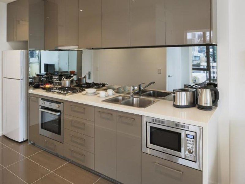 Melbourne Short Stay Apartments Southbank Collection Wohnbeispiel