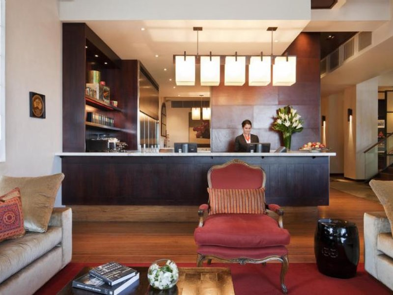 Hotel Lindrum Lounge/Empfang