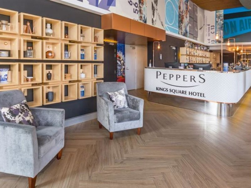 Peppers King Square Lounge/Empfang