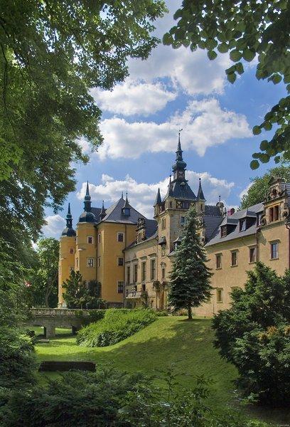 Schloss Kliczkow Außenaufnahme
