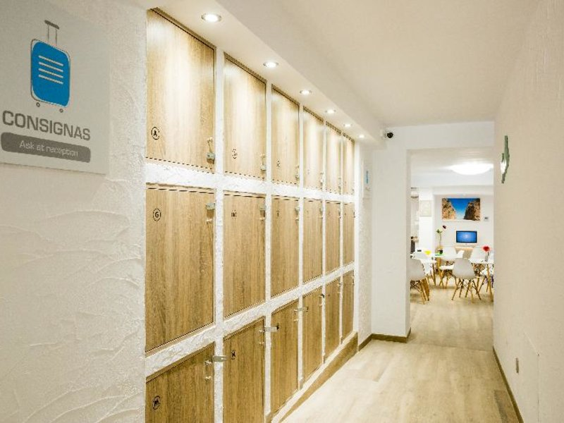 Singular Hostel By Eurotels Lounge/Empfang