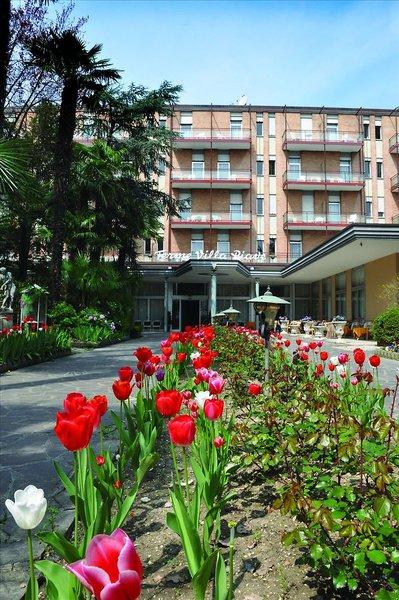 Terme Villa Piave Garten