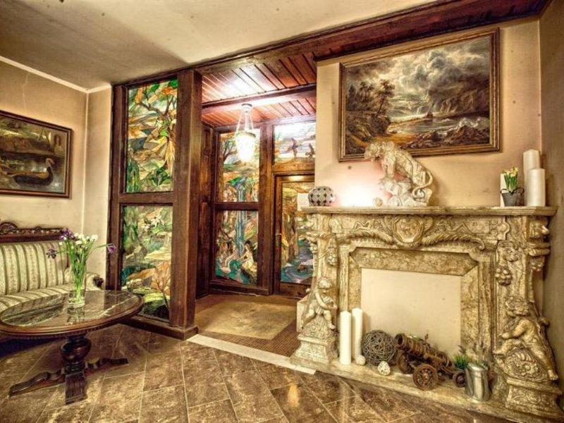 Hotel Gaja Lounge/Empfang
