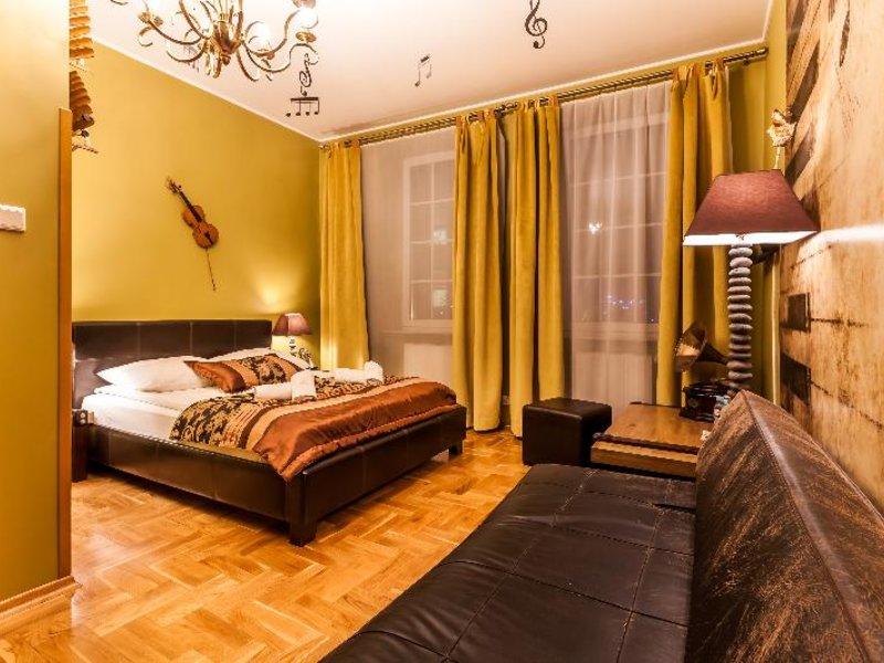 Aparthotel Oberza Sasiadow Krakow Wohnbeispiel