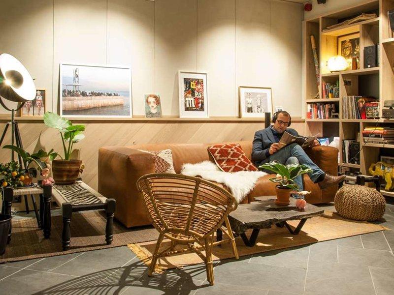 Hotel Indigo Antwerp - City Centre  Lounge/Empfang