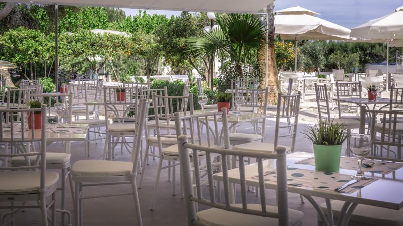The Grove Seaside Hotel Terrasse