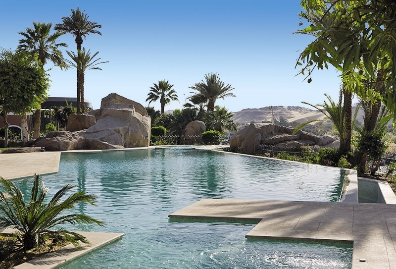 Sofitel Legend Old Cataract Aswan Pool