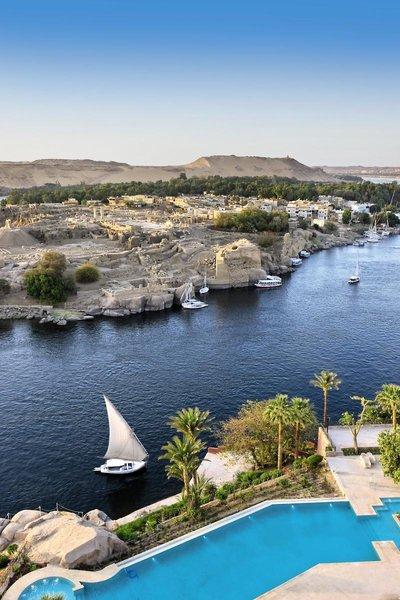 Sofitel Legend Old Cataract Aswan Landschaft