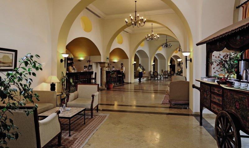 Solaria & Thalasso Lounge/Empfang