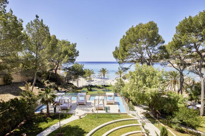 Secrets Mallorca Villamil Resort & Spa - Erwachsenenhotel Garten
