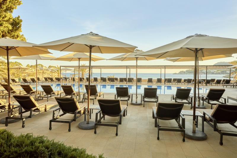 Secrets Mallorca Villamil Resort & Spa - Erwachsenenhotel Terrasse
