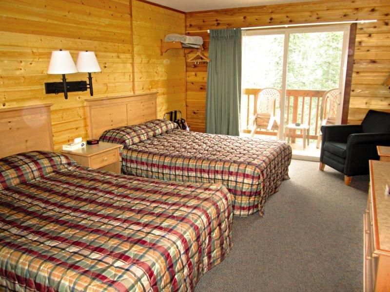 Denali Grizzly Bear Cabins & Resort Hotel Cedar Wohnbeispiel