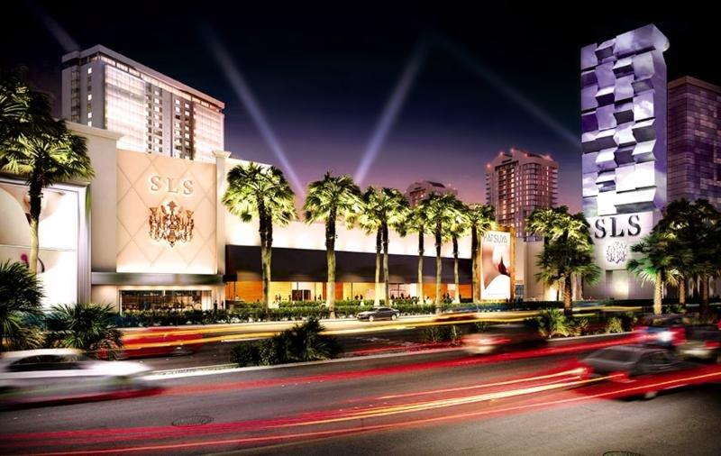 SLS Las Vegas Hotel & Casino Außenaufnahme