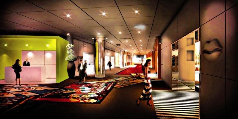 SLS Las Vegas Hotel & Casino Lounge/Empfang