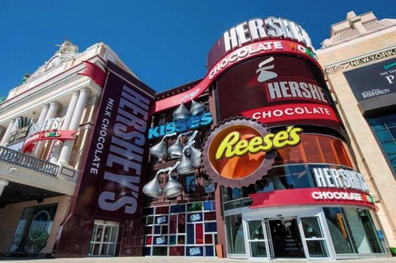 New York New York & Casino Außenaufnahme