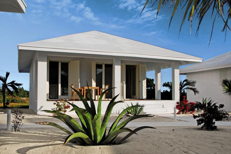 Guanahani Beach Club Terrasse