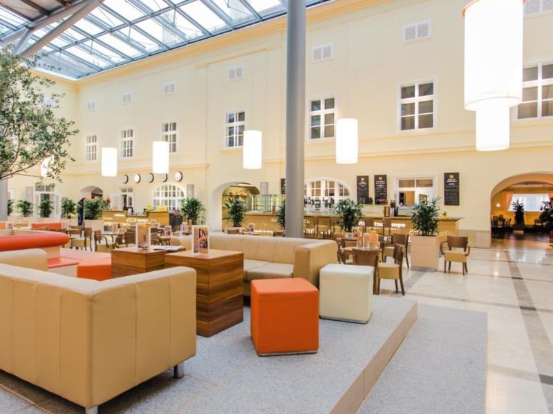 JUFA Hotel Wien City Lounge/Empfang