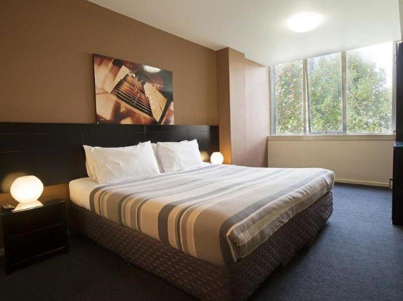 Nomads Melbourne Hostel Wohnbeispiel